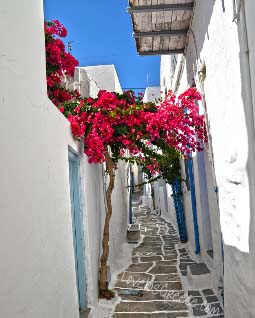 Village of Chora Ios